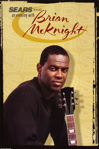 Brian McKnight Poster  : 12&quot; x 18&quot;