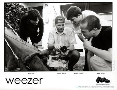 Weezer Promo Print  : 8x10 RC Print