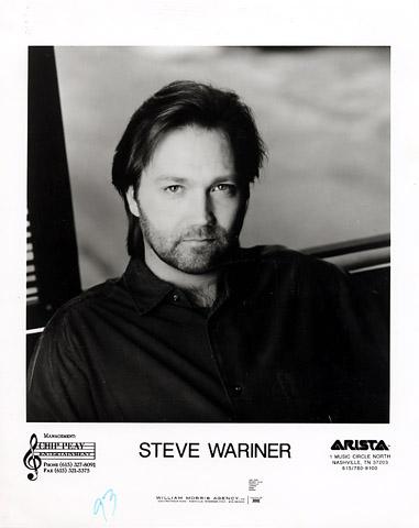 Steve Wariner Promo Print  : 8x10 RC Print