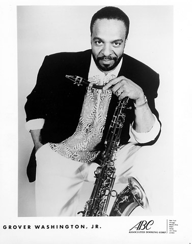 Grover Washington Jr. Promo Print  : 8x10 RC Print