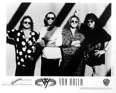 Van Halen Promo Print  : 8x10 RC Print