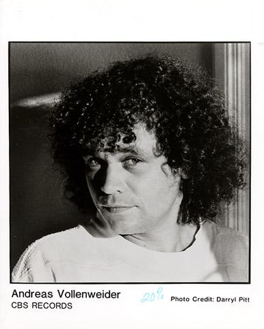 Andreas Vollenweider Promo Print  : 8x10 RC Print
