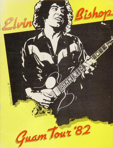 "Elvin Bishop Program  : 8 1/2"" x 11"""