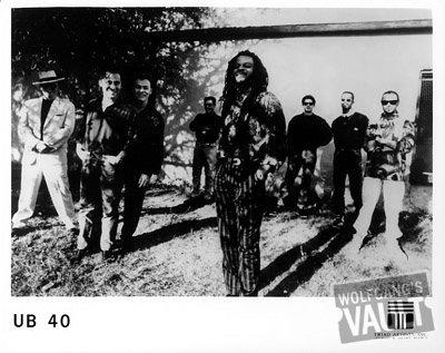 UB40 Promo Print  : 8x10 RC Print