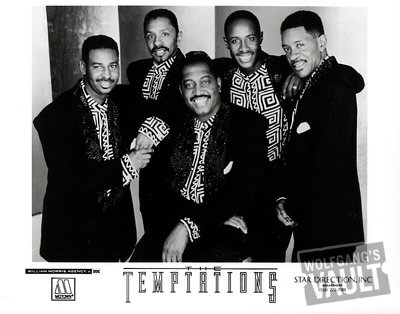 The Temptations Promo Print  : 8x10 RC Print