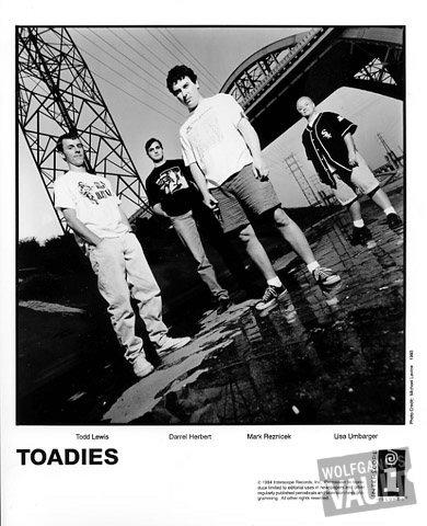 Toadies Promo Print  : 8x10 RC Print