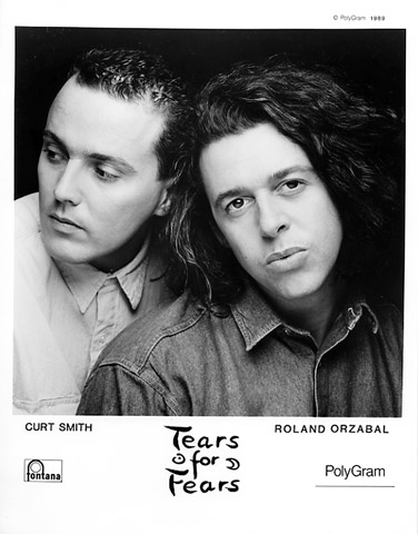 Tears for Fears Promo Print  : 8x10 RC Print