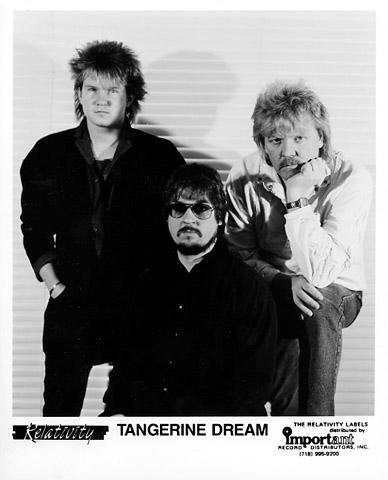Tangerine Dream Promo Print  : 8x10 RC Print