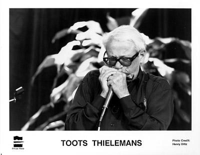 Toots Thielemans Promo Print  : 8x10 RC Print