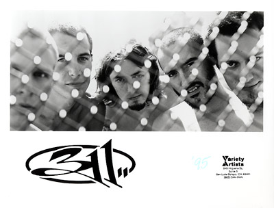 311 Promo Print  : 8x10 RC Print