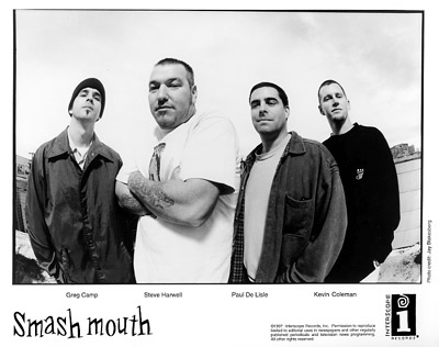 Smash Mouth Promo Print  : 8x10 RC Print