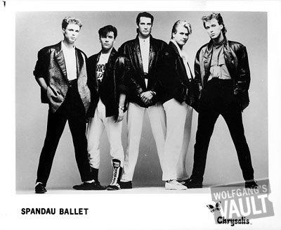Spandau Ballet Promo Print  : 8x10 RC Print