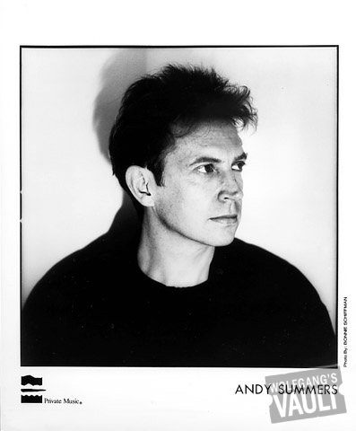 Andy Summers Promo Print  : 8x10 RC Print