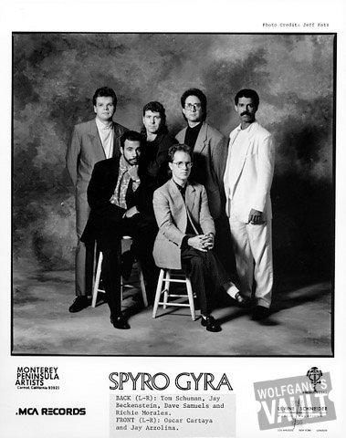 Spyro Gyra Promo Print  : 8x10 RC Print