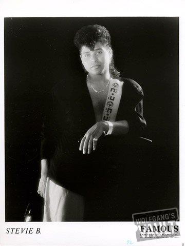 Stevie B Promo Print  : 8x10 RC Print