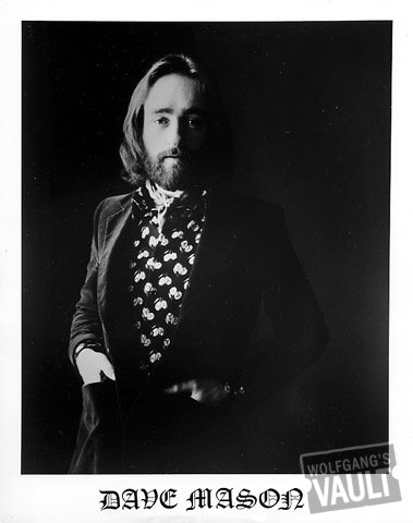 Dave Mason Promo Print  : 8x10 RC Print