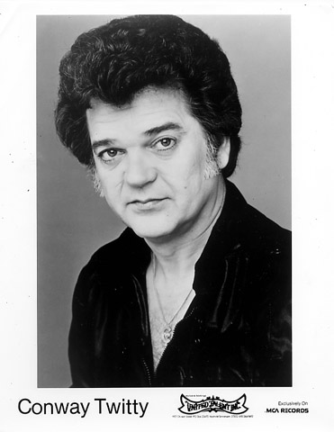 Conway Twitty Promo Print  : 8x10 RC Print