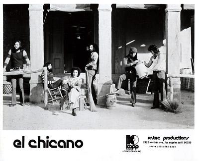 El Chicano Promo Print  : 8x10 RC Print
