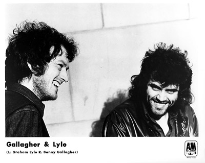 Gallagher & Lyle Promo Print  : 8x10 RC Print