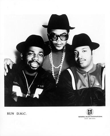 RUN-D.M.C. Promo Print  : 8x10 RC Print