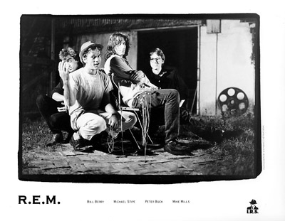 R.E.M. Promo Print  : 8x10 RC Print