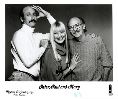 Peter, Paul & Mary Promo Print  : 8x10 RC Print