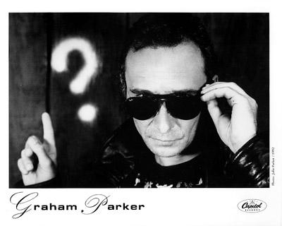 Graham Parker Promo Print  : 8x10 RC Print