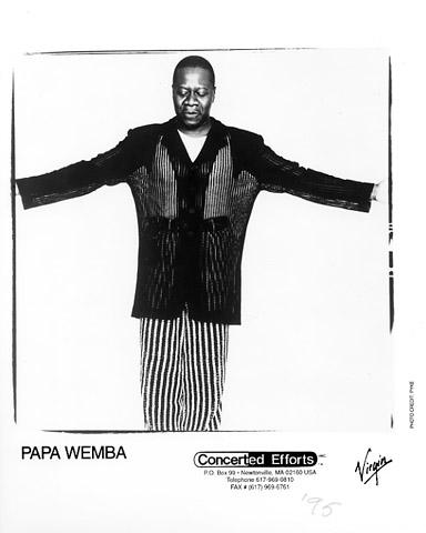 Papa Wemba Promo Print  : 8x10 RC Print