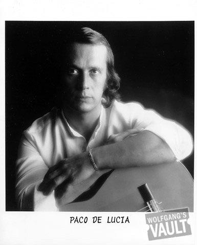 Paco de Lucia Promo Print  : 8x10 RC Print