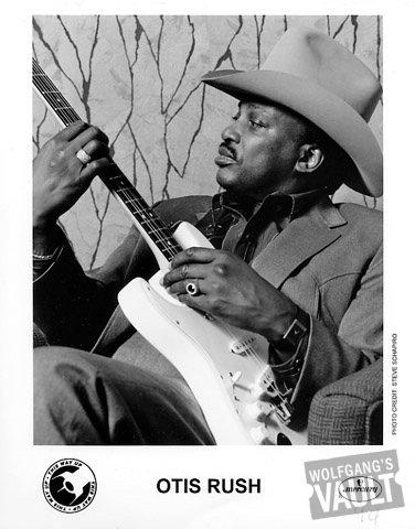 Otis Rush Promo Print  : 8x10 RC Print