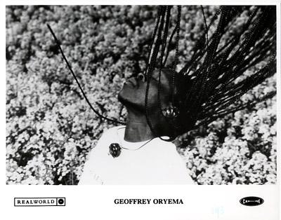 Geoffrey Oryema Promo Print  : 8x10 RC Print