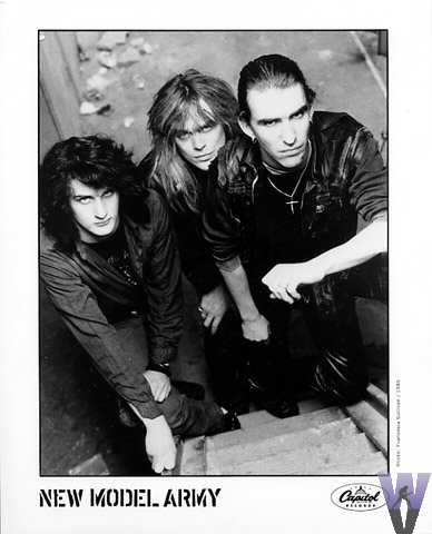 New Model Army Promo Print  : 8x10 RC Print