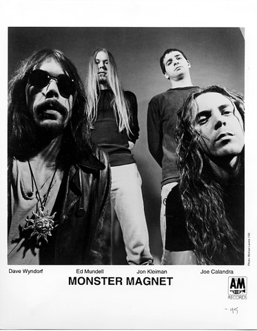 Monster Magnet Promo Print  : 8x10 RC Print