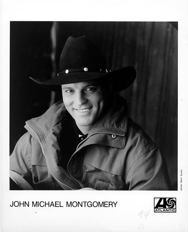 John Michael Montgomery Promo Print  : 8x10 RC Print