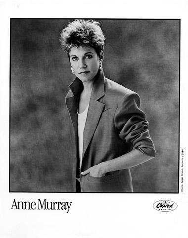 Anne Murray Promo Print  : 8x10 RC Print