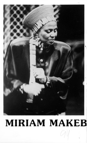 Miriam Makeba Promo Print  : 5x7 RC Print