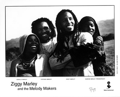 Ziggy Marley & the Melody Makers Promo Print  : 8x10 RC Print