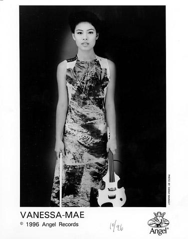 Vanessa-Mae Promo Print  : 8x10 RC Print