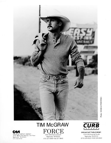 Tim McGraw Promo Print  : 8x10 RC Print