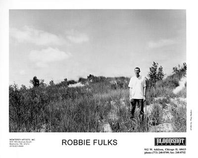 Robbie Fulks Promo Print  : 8x10 RC Print