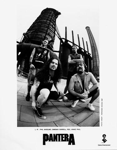 Pantera Promo Print  : 8x10 RC Print