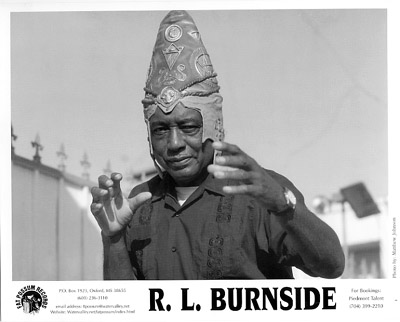 R.L. Burnside Promo Print  : 8x10 RC Print