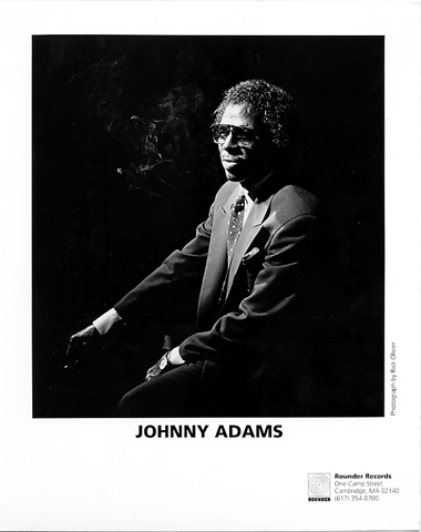 Johnny Adams Promo Print  : 8x10 RC Print