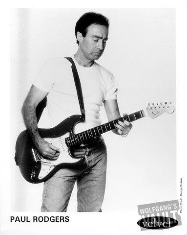 Paul Rodgers Promo Print  : 8x10 RC Print