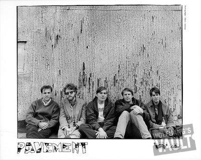 Pavement Promo Print  : 8x10 RC Print