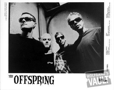 The Offspring Promo Print  : 8x10 RC Print