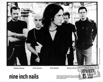 Nine Inch Nails Promo Print  : 8x10 RC Print