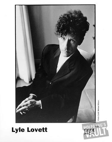 Lyle Lovett Promo Print  : 8x10 RC Print