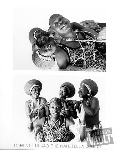 Mahlathini and the Mahotella Queens Promo Print  : 8x10 RC Print
