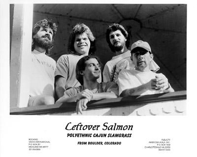 Leftover Salmon Promo Print  : 8x10 RC Print